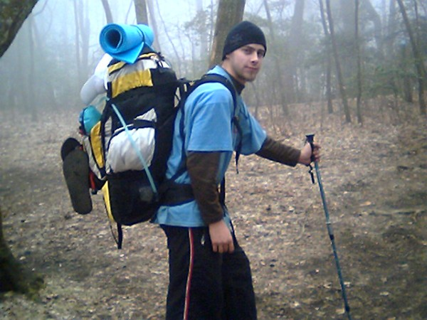 The Poet Hiking On The Appalachian Trail