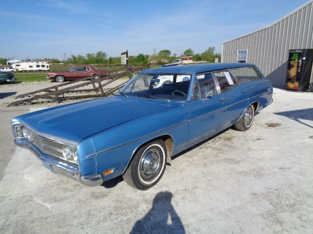 Blue ford station wagon poem