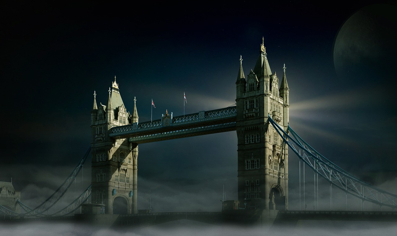 London Bridge is a symbol for societal collapse and is famous for the Rhyme